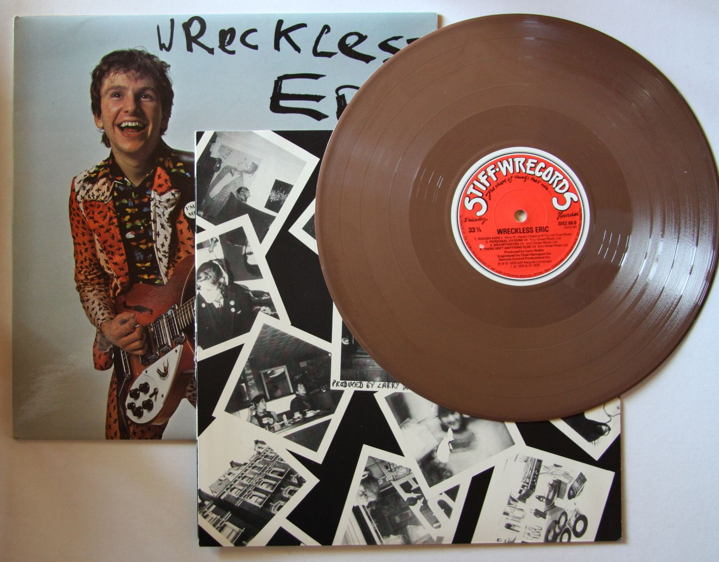 Wreckless Eric Wreckless Eric Records Vinyl And Cds