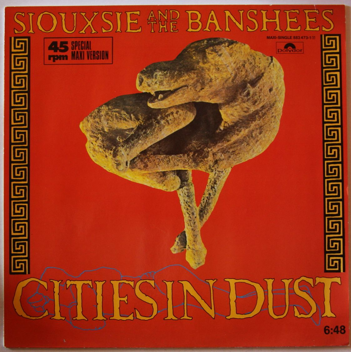 Siouxsie & The Banshees - Cities In Dust EP