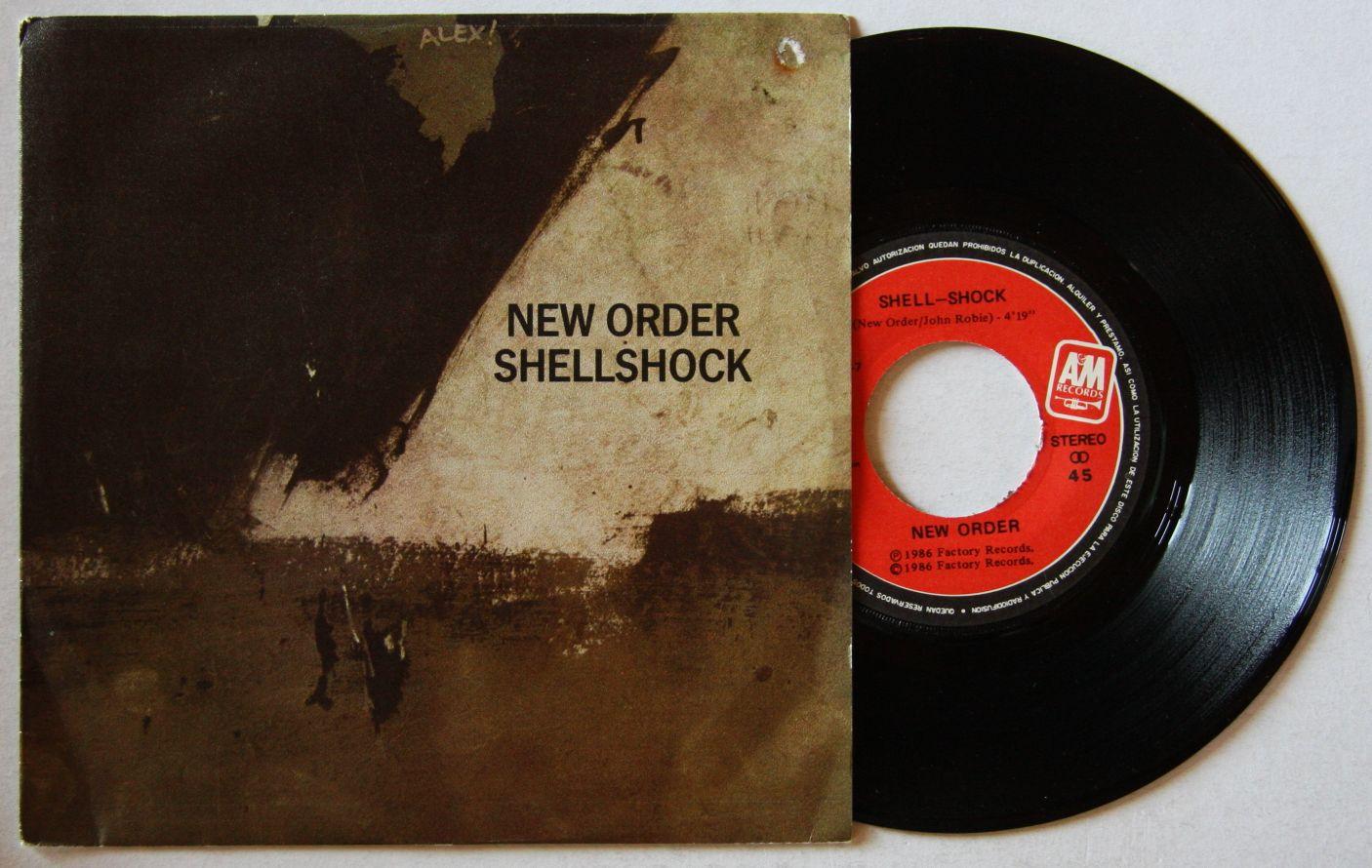 New Order Shellshock Records Lps Vinyl And Cds Musicstack