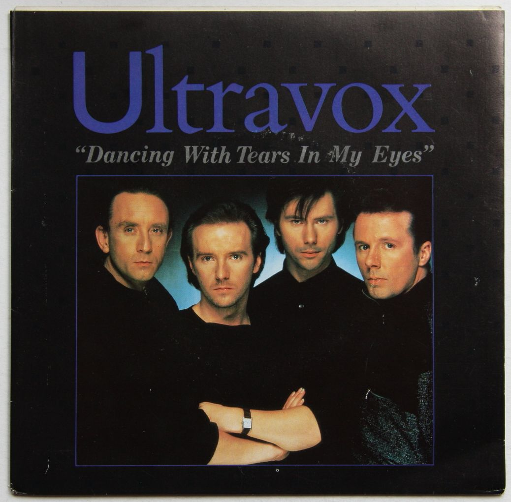 Ultravox Dancing With Tears In My Eyes Records Vinyl And