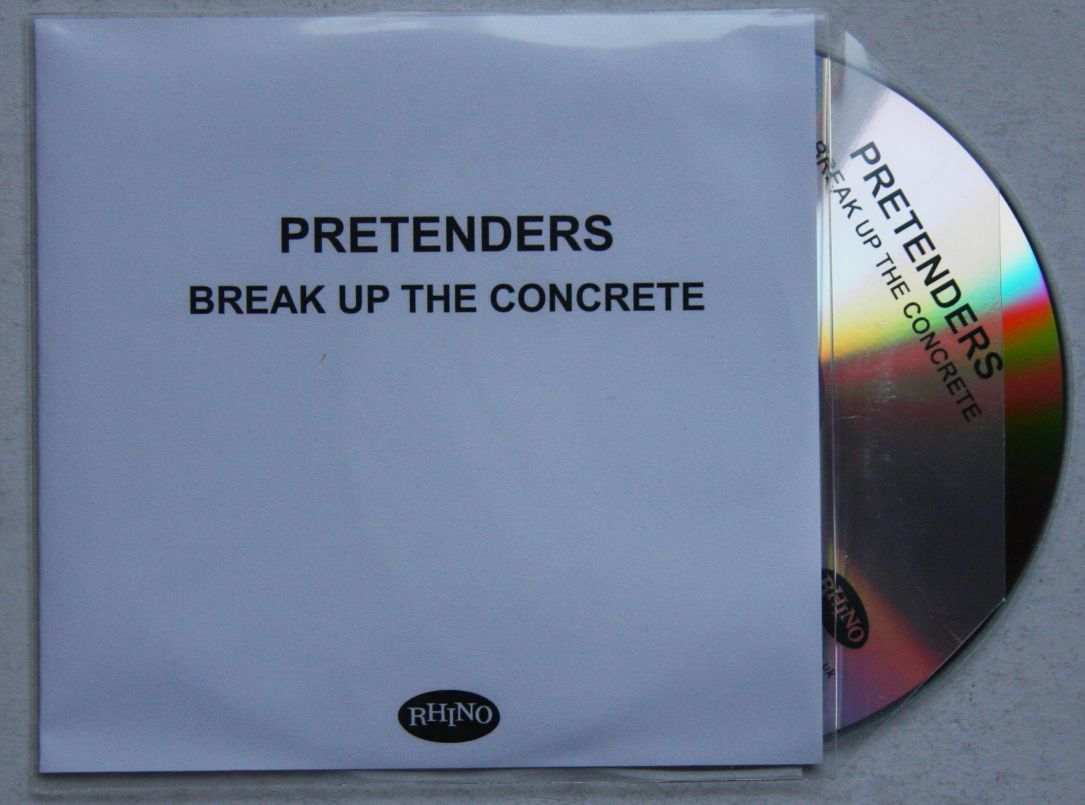 Break Up The Concrete 11 Tracks - U.s. Promo Issue - - PRETENDERS