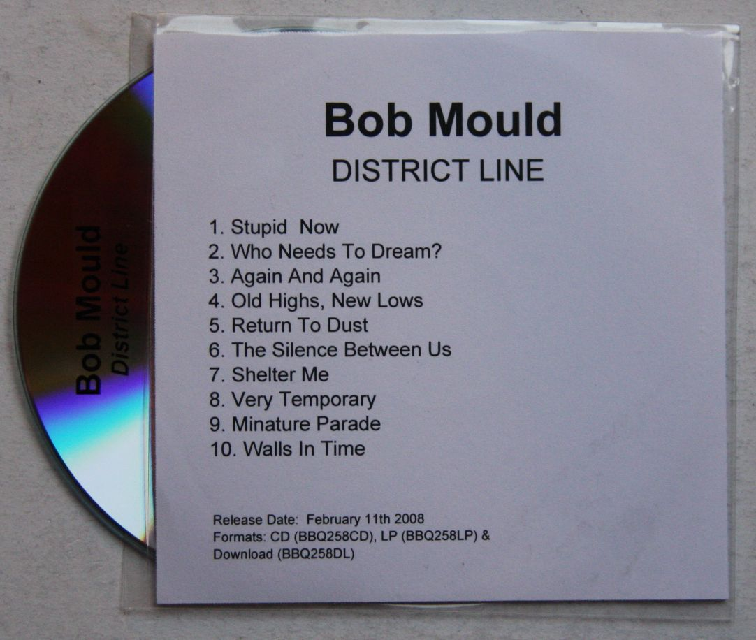 Bob Mould - District Line Album