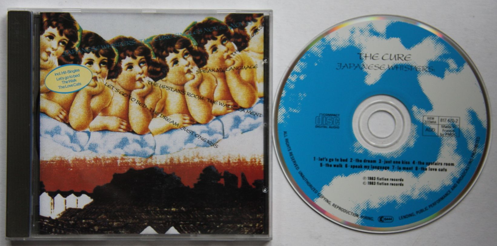 Cure - Japanese Whispers