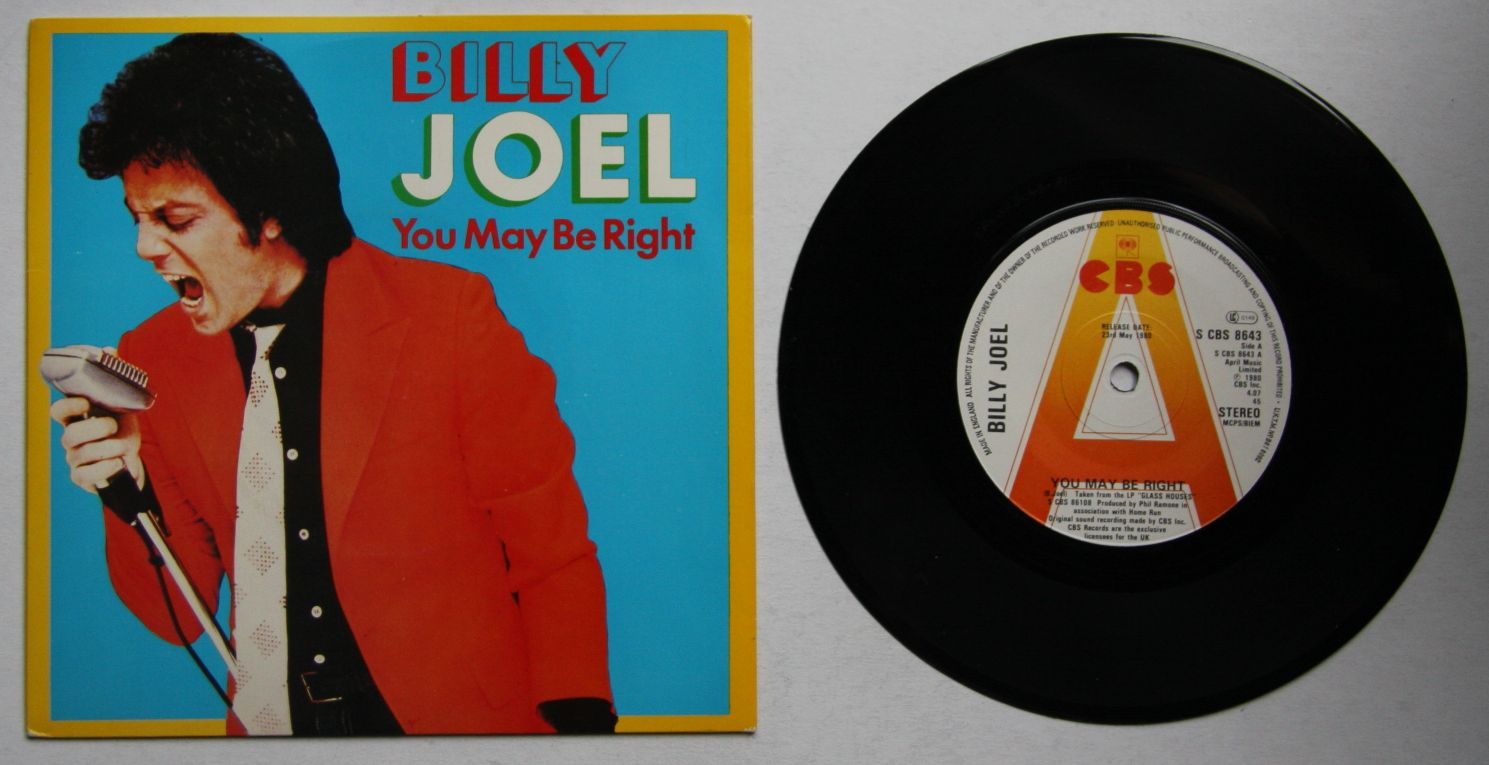 Billy Joel - You May Be Right Record