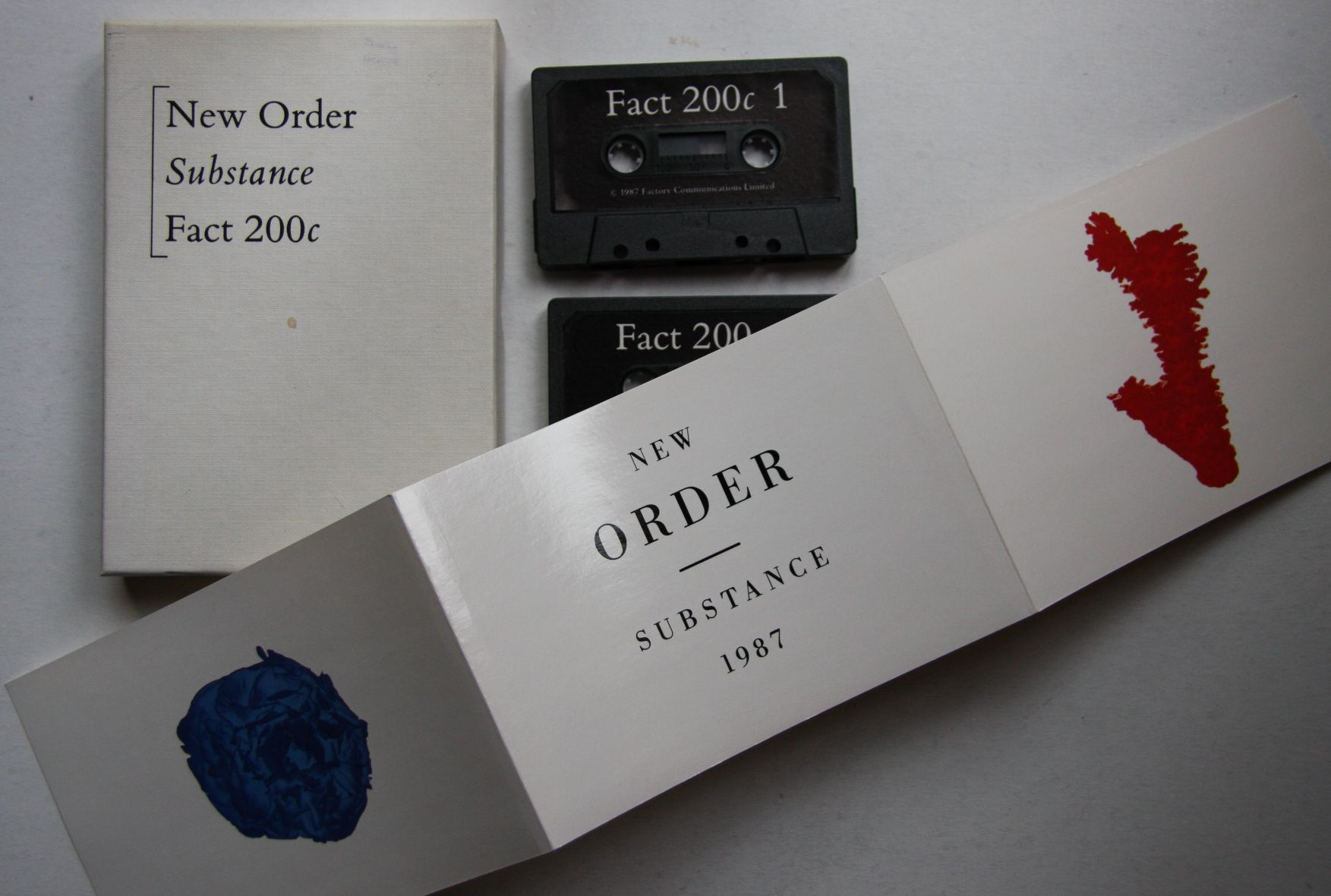New Order Substance Records Vinyl And Cds Hard To Find