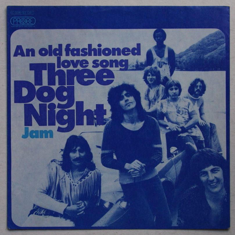 Three Dog Night An Old Fashioned Love Song Records, LPs