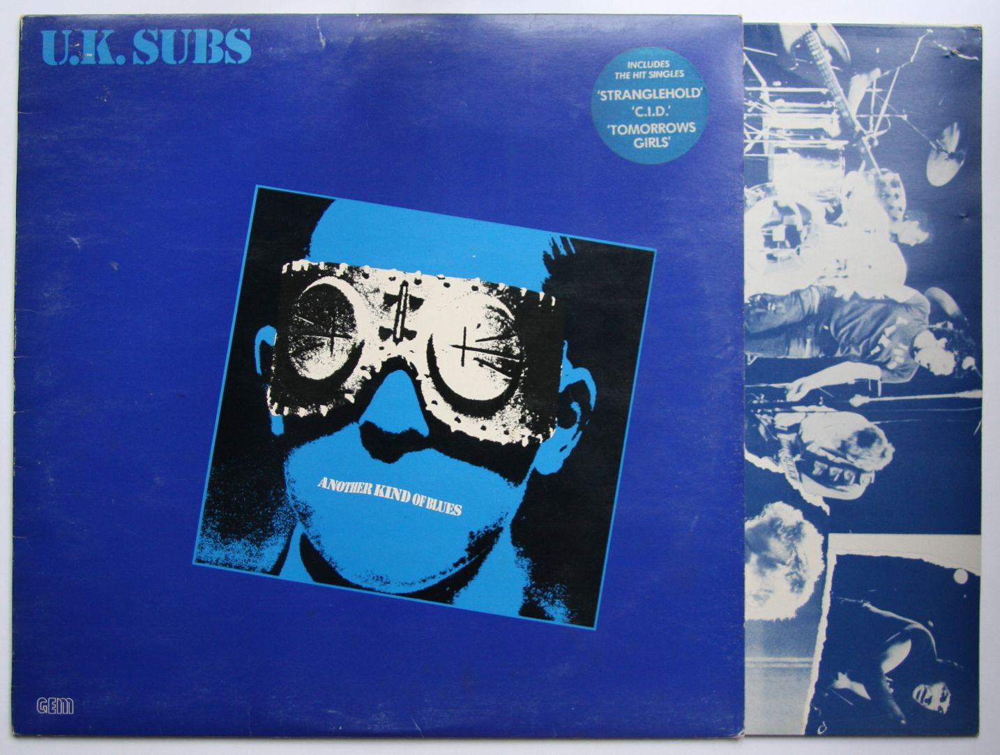 Uk Subs Another Kind Of Blues Records Vinyl And Cds