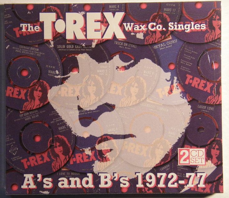 T Rex Wax Co Single A's And B's