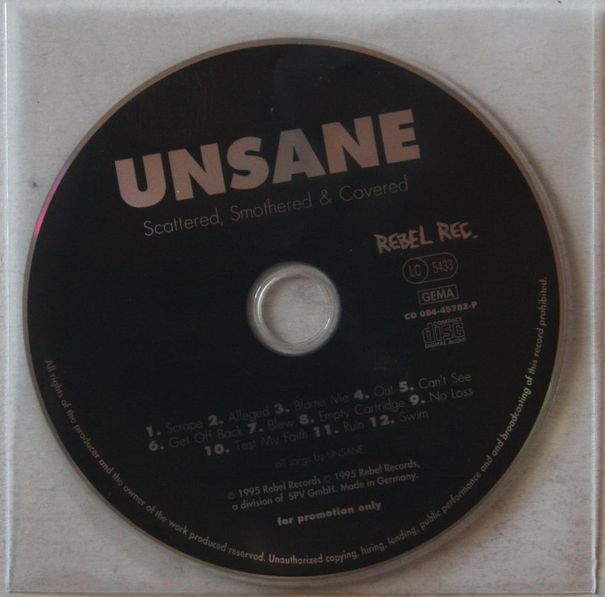 Unsane Records Vinyl And Cds Hard To Find And Out Of Print