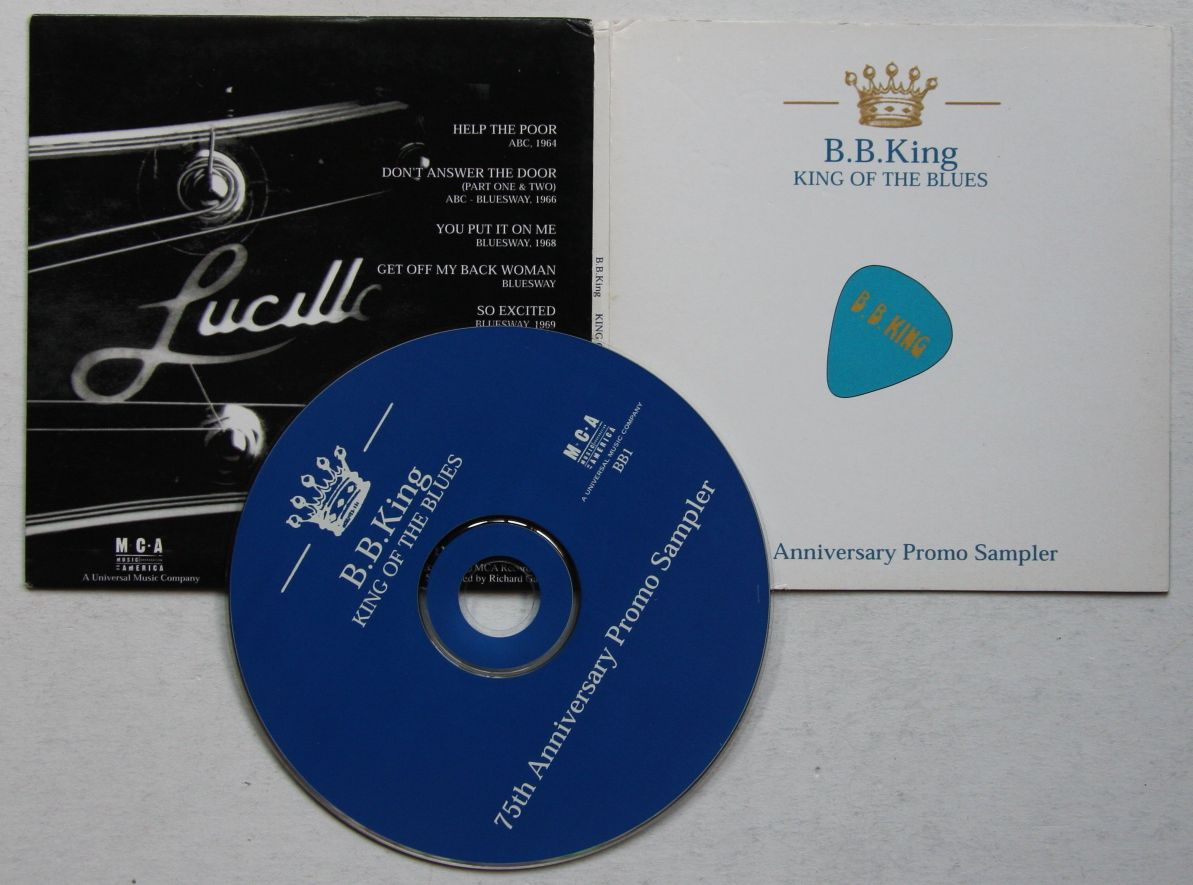 B.B. King - King Of The Blues - 75th Anniversary Promo Sampler