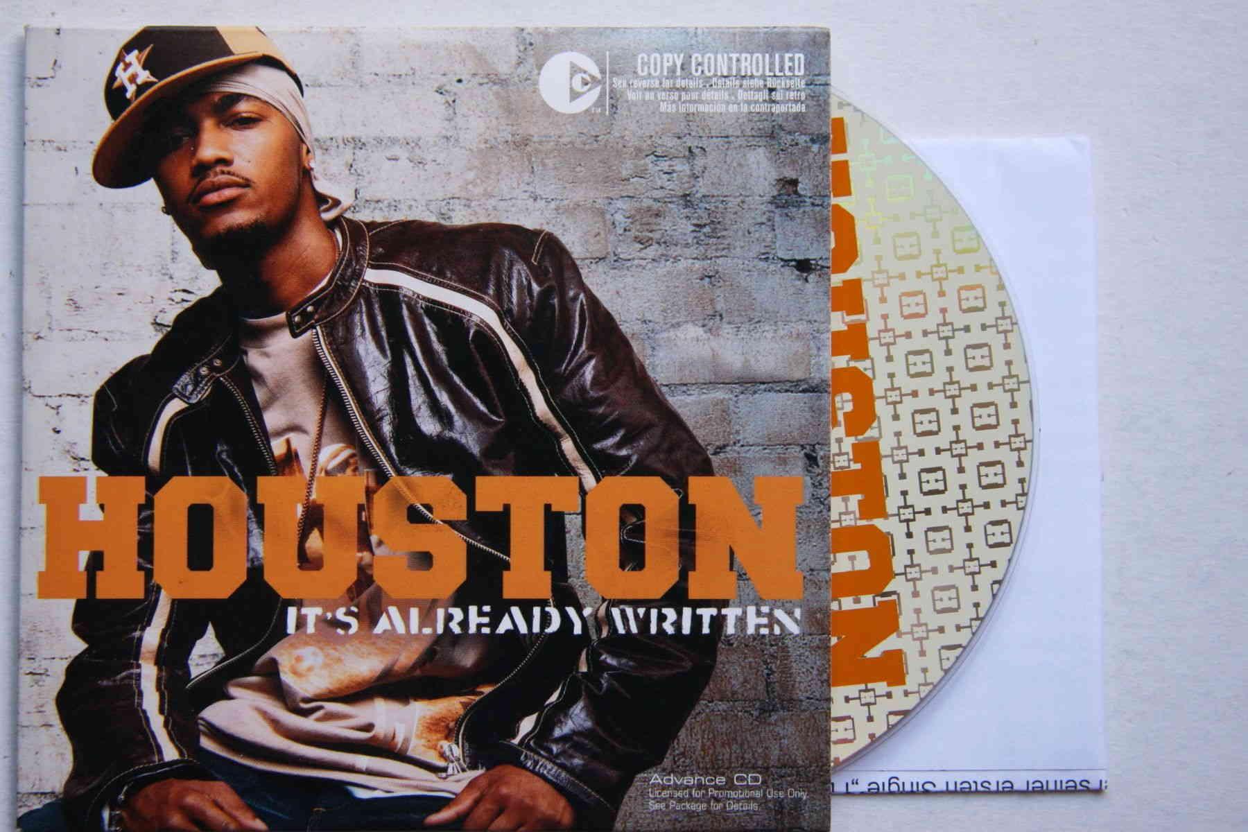 Houston It S Already Written Records Lps Vinyl And Cds