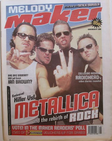 Uk Melody Maker 10071999