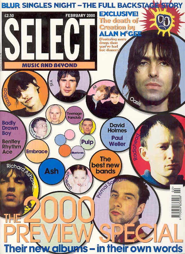 Uk Select Magazine Feb. 2000