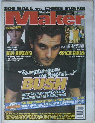 Uk Melody Maker Magazine 25.10.1997