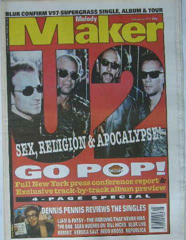 Uk Melody Maker Magazine 22.2.1997