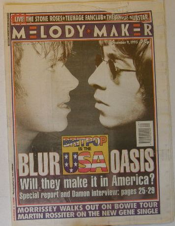 Uk Melody Maker Magazine 9121995