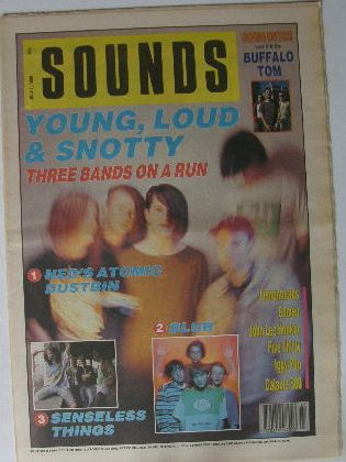 Uk Sounds Magazine 7.7.1990