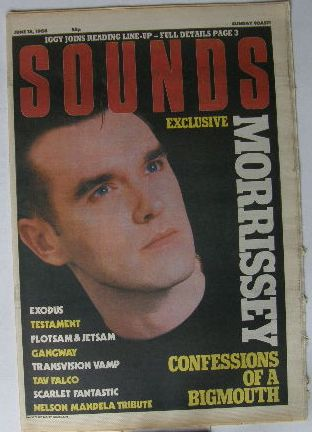 Uk Sounds Magazine 18.6.1988