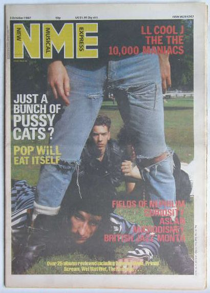 Uk Nme Magazine 3.oct 1987