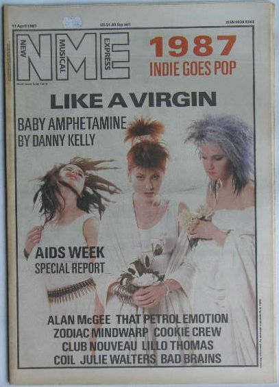 Uk Nme Magazine 11. Apr 1987