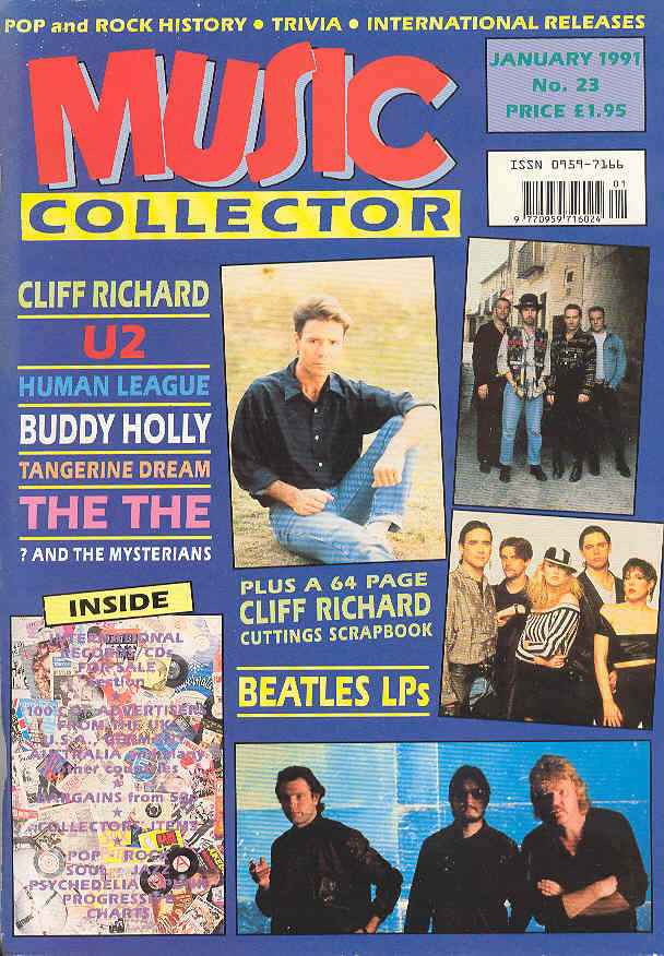 Music Collector Magazine Issue 23 January 1991