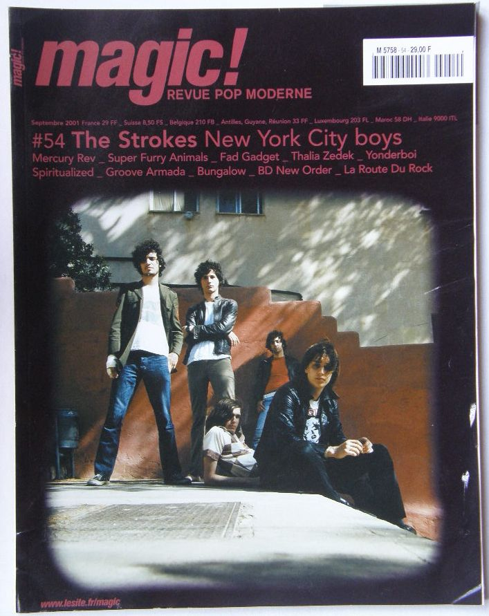 France Magic Magazine 54 Sep2001