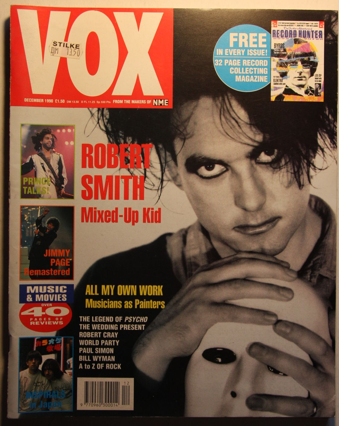 Uk Vox Magazine #3 Dec 90