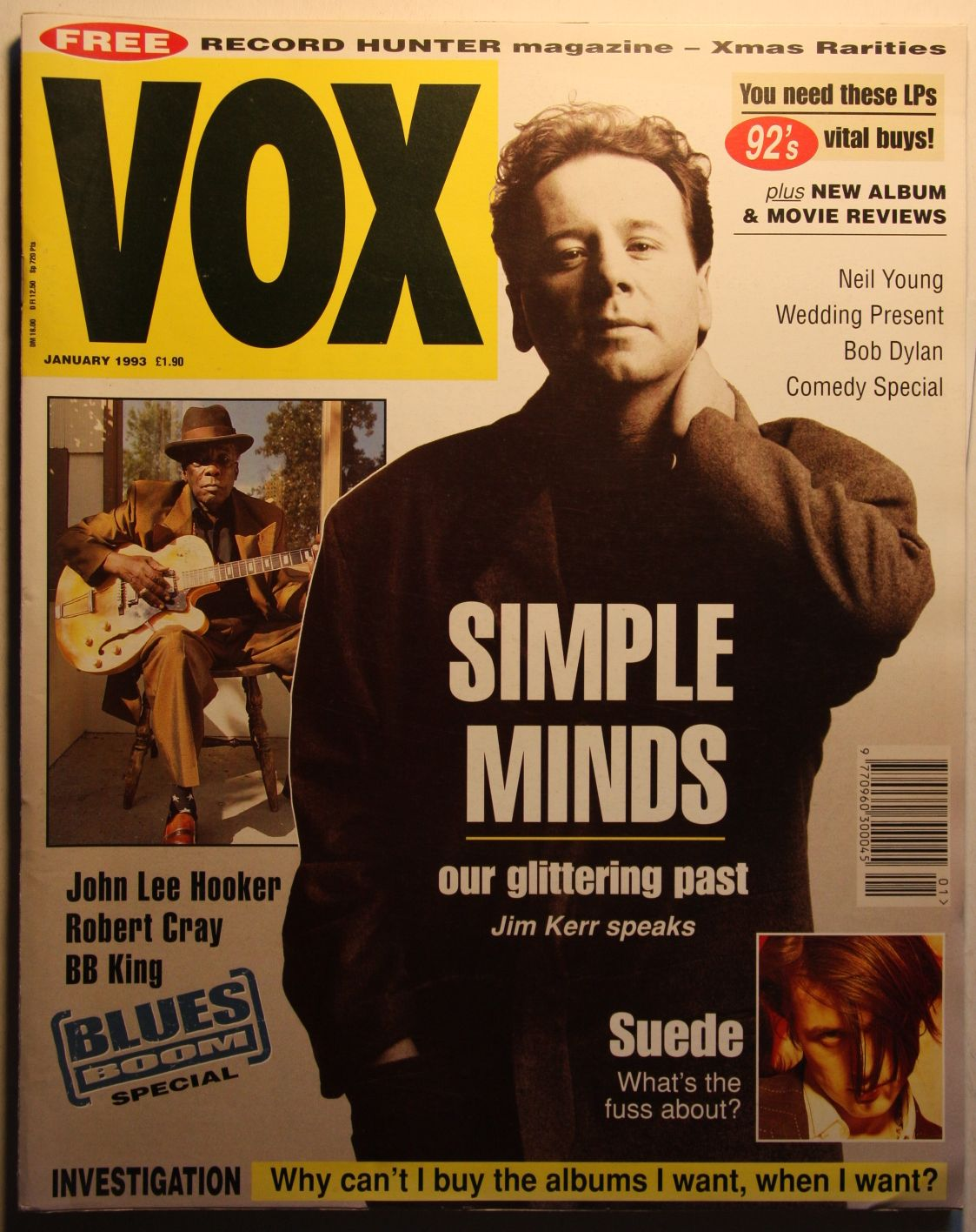 Uk Vox Magazine #28 Jan 93