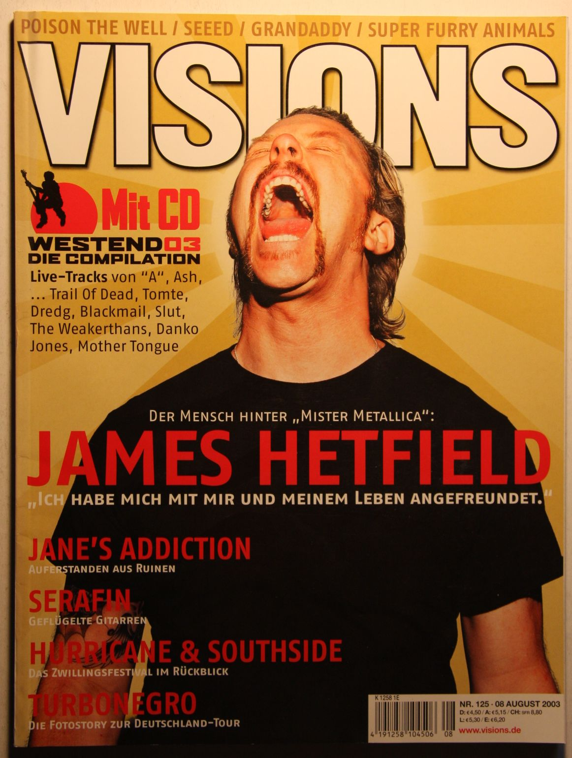 German Visions Magazine Nr.125 Aug 03