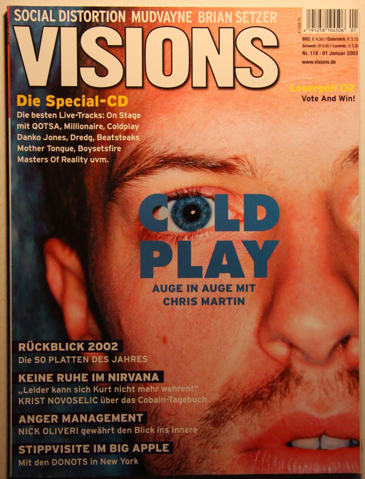 German Visions Magazine Nr118 Jan 03