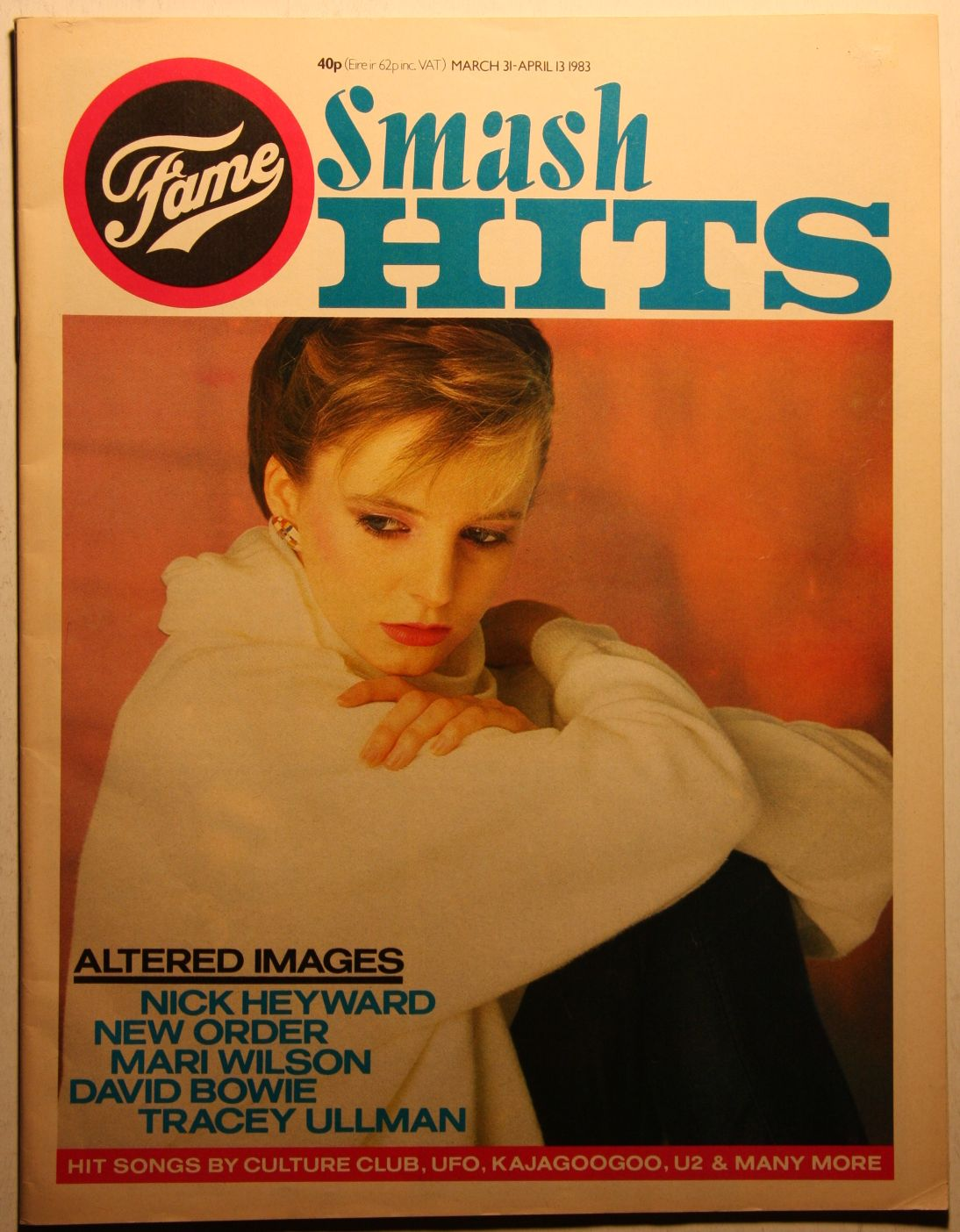 Uk Smash Hits Magazine Apr 83