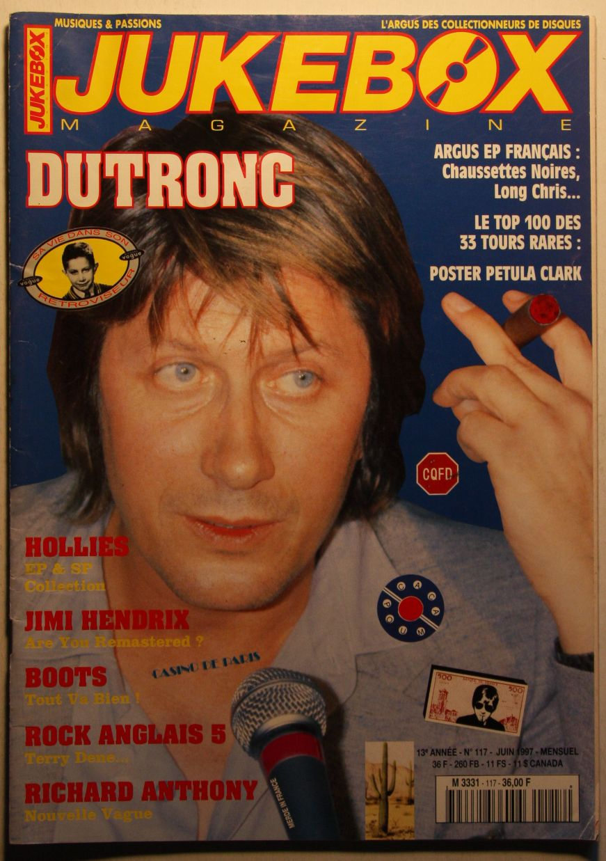 France Jukebox Magazine #117 Jun 1997