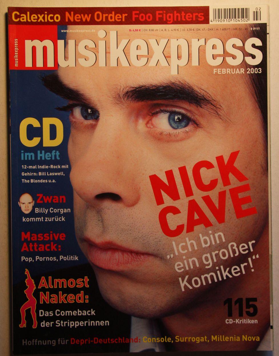 German Musik Express Feb 2003