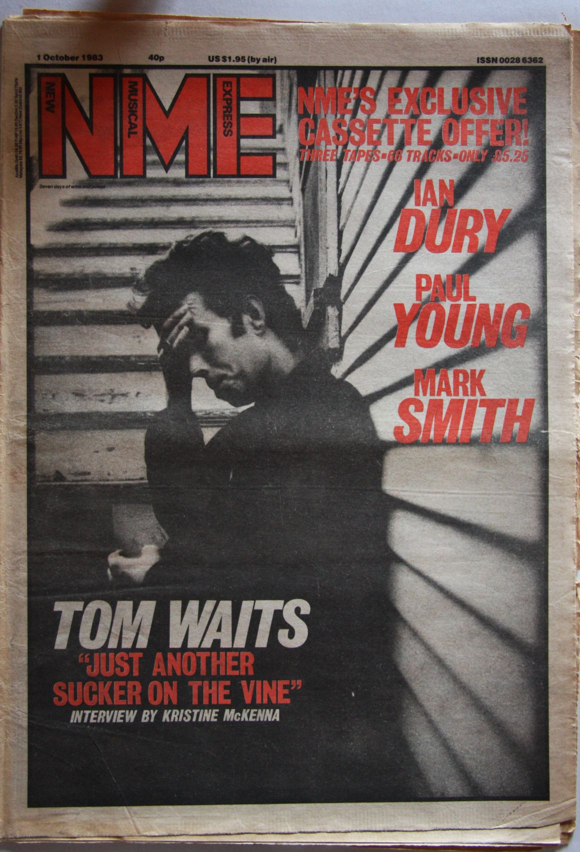 Uk Nme Magazine 1. Oct 1983