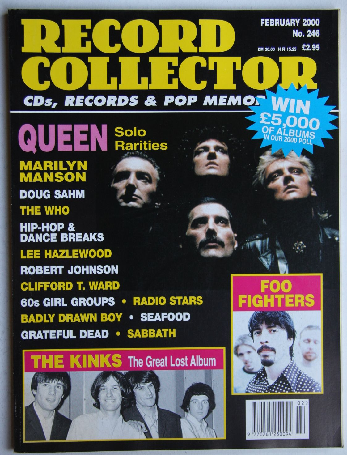 Uk Record Collector Magazine June 1992