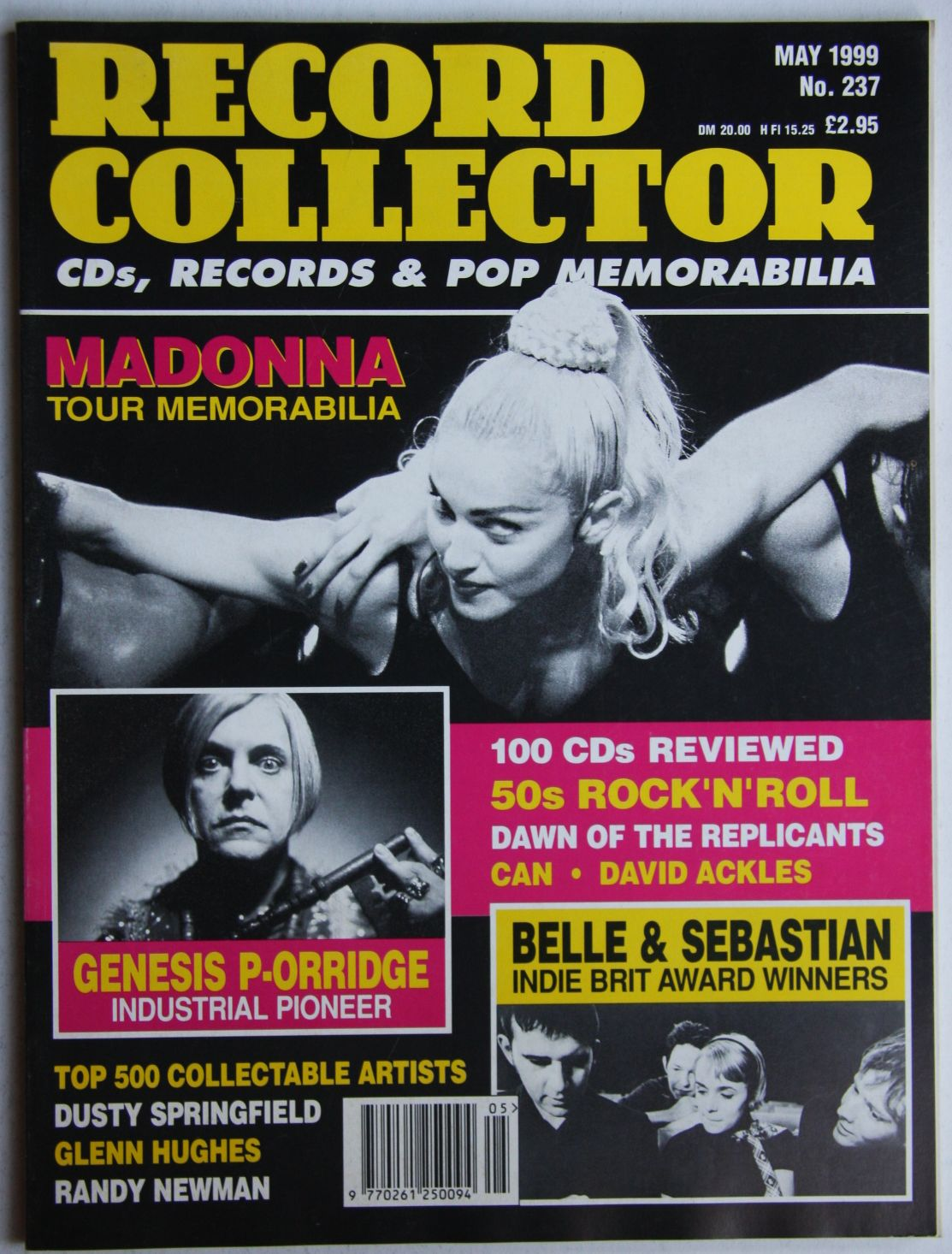 Uk Record Collector Magazine May 1999