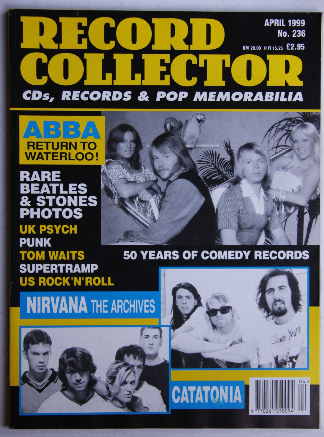 Uk Record Collector Magazine April 1999