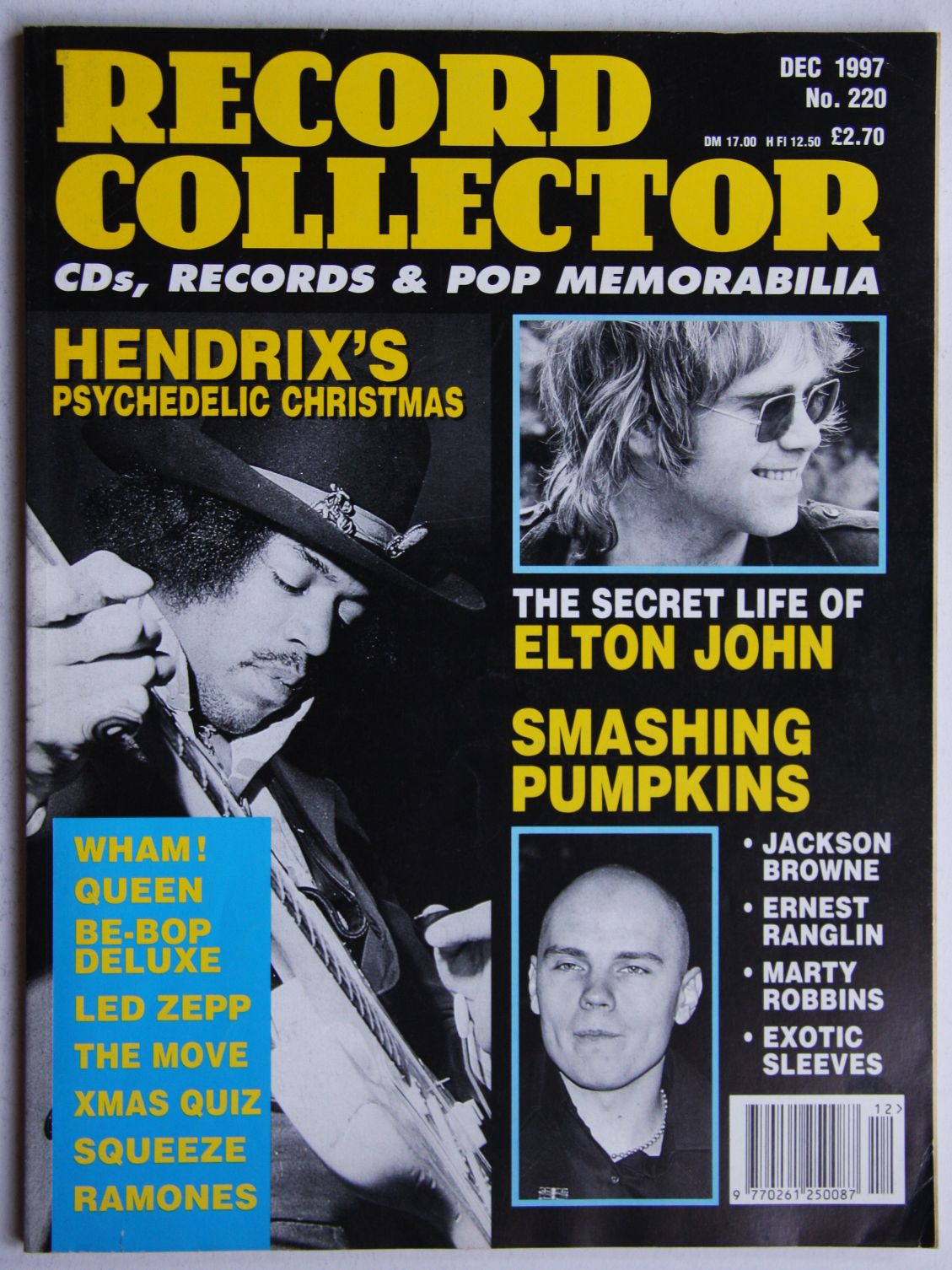 Jimi Hendrix - Uk Record Collector Magazine December 1997