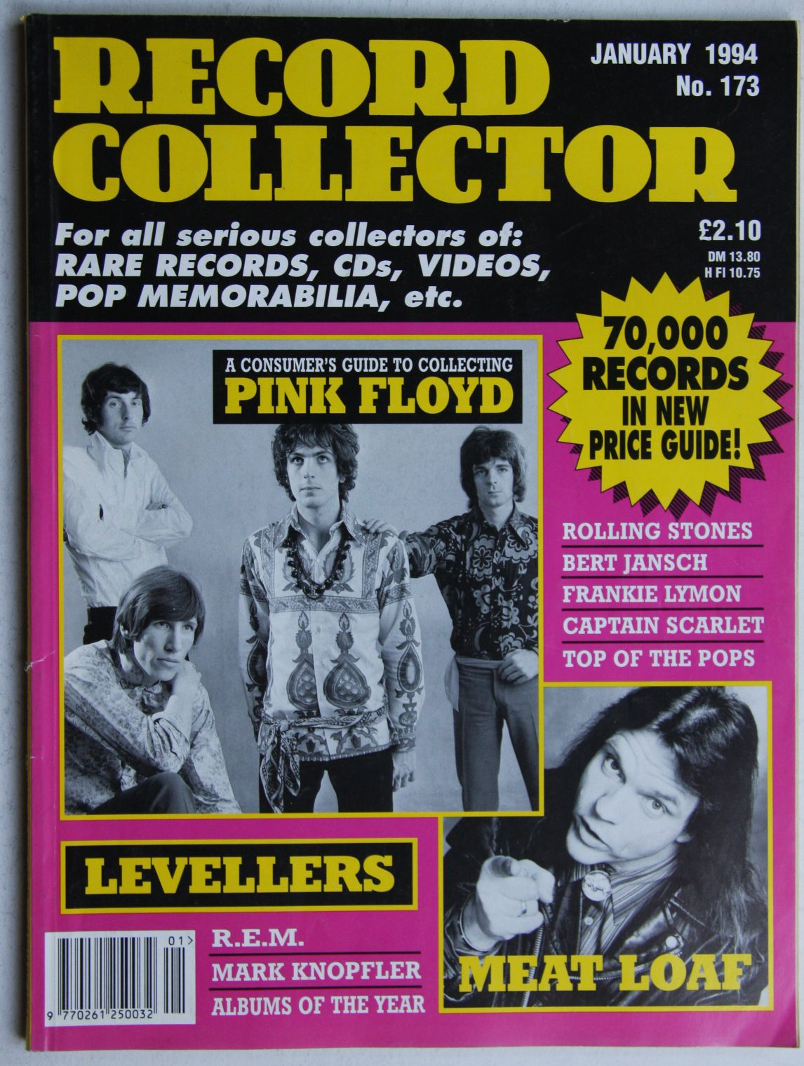 Uk Record Collector Magazine April 1988