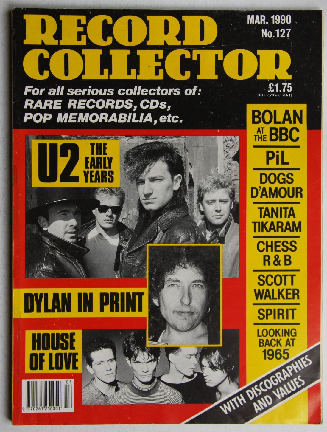 Uk Record Collector Magazine July 1988