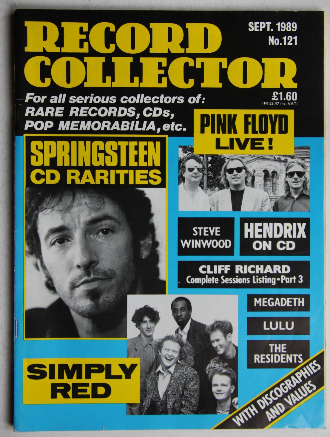 Uk Record Collector Magazine June 1986