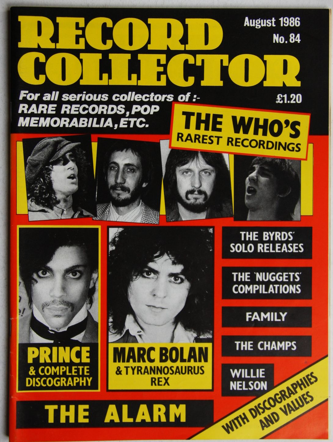 Uk Record Collector Magazine August 1986