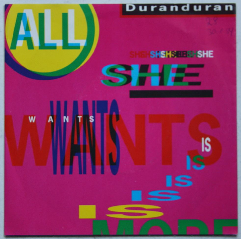 Duran Duran - All She Wants