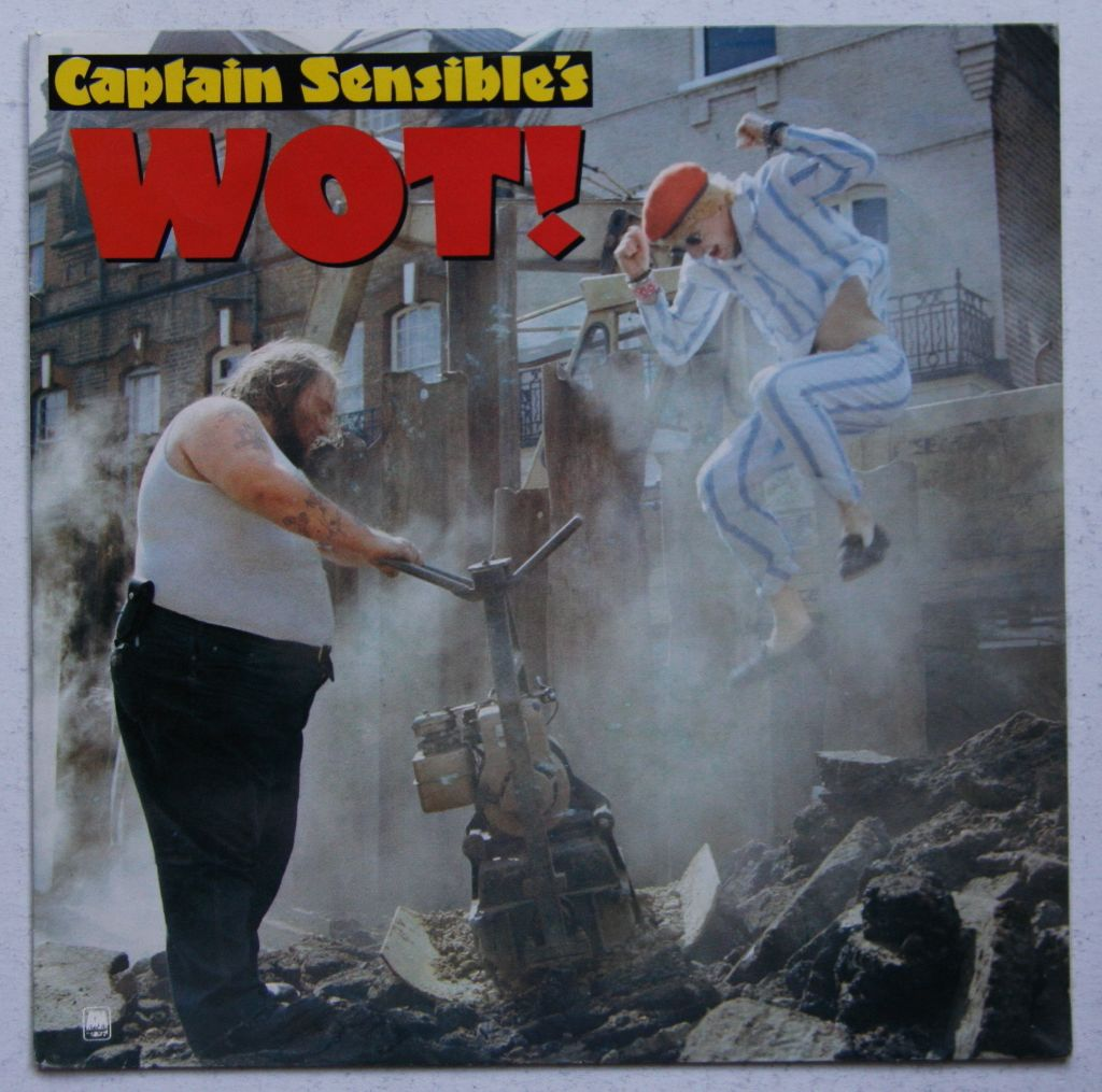 Captain Sensible - Wot! Album