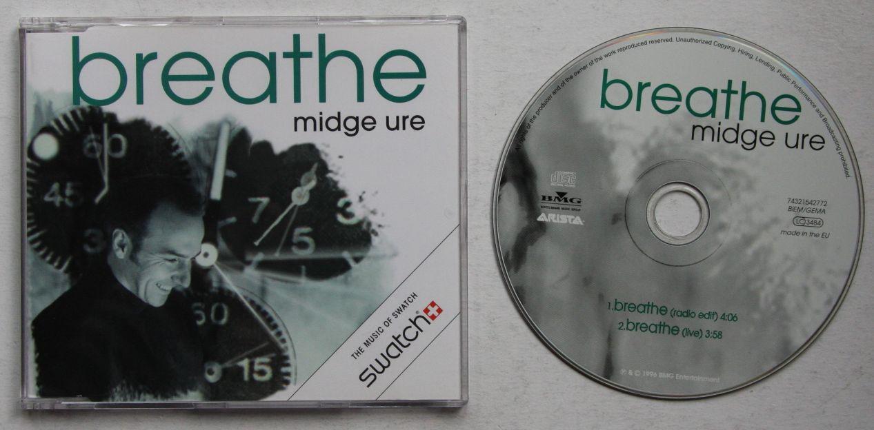 Midge Ure Breathe Midge Ure Breathe Album