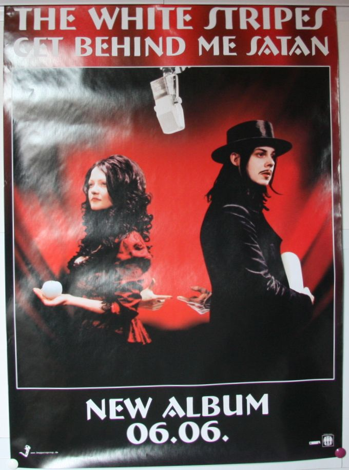 White Stripes Get Behind Me Satan Records Vinyl And Cds