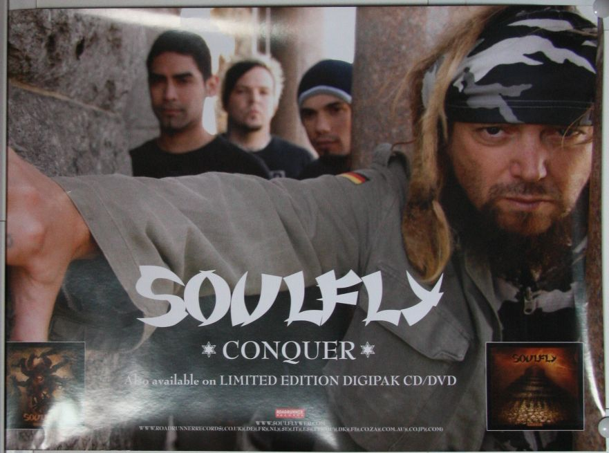 Soulfly - Conquer LP