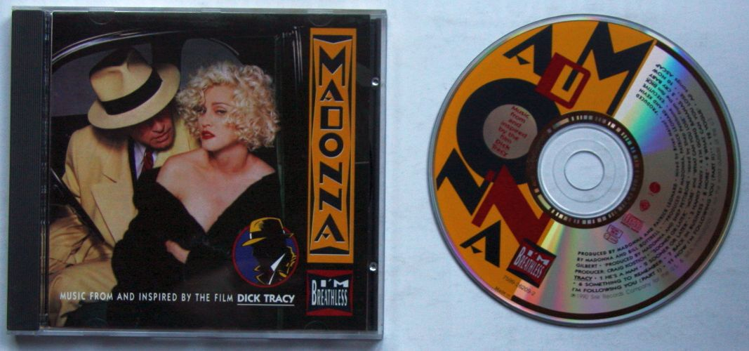 Madonna - I'm Breathless - Music From And Inspired By The Film Dick Tracy