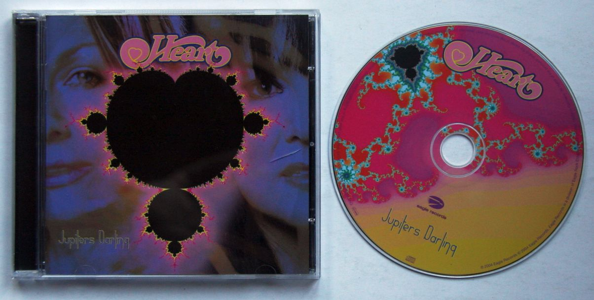 Heart Jupiter's Darling Records, LPs, Vinyl and CDs ...  |Heart Jupiters Darling