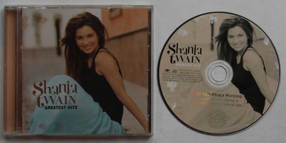 Shania Twain Greatest Hits Records Lps Vinyl And Cds
